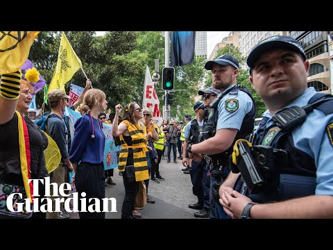 Extinction Rebellion protests continue for a second day across Australia