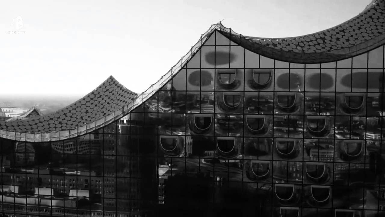 Elbphilharmonie by herzog de meuron flight over - Architektur basel ...