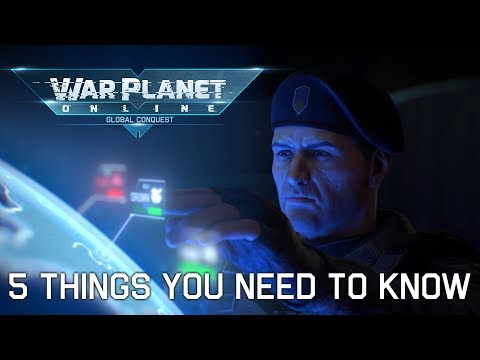 5 Things You Need To Know About War Planet Online