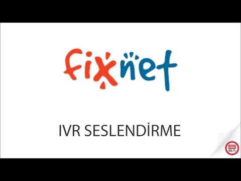IVR Seslendirme - Fixnet