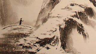 Японская живопись в СПб. Зима
