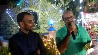 Guest about Male Anchor Thamizh's English and Tamil Command at Christian Holy Communion Event