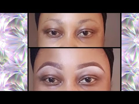 HOW TO: EYEBROWS | NO BROW GEL | BEGINNERS FRIENDLY | WOC | ARCH EYEBROWS TUTORIAL | MAKEUP |
