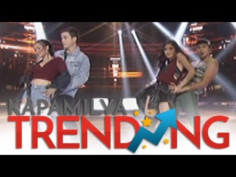 Maja Arjo and Kim Enchong battle it out in one hot dance off