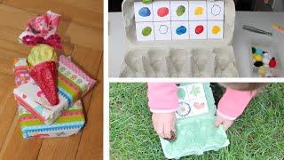 5 schnelle Bastelideen Eierkarton / UPCYCLING Eierkarton - egg-carton / Bastelideen / TäglichMama