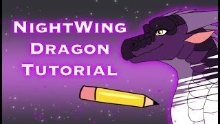 NIGHTWING DRAWING TUTORIAL
