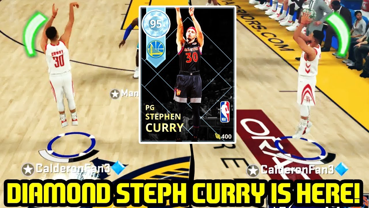 d696f89920d DIAMOND STEPH CURRY IS HERE! HOF LIMITLESS ALLSTAR CAPTAIN! NBA 2K18 MYTEAM  GAMEPLAY