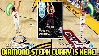 DIAMOND STEPH CURRY IS HERE! HOF LIMITLESS ALLSTAR CAPTAIN! NBA 2K18 MYTEAM GAMEPLAY