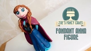 Frozen Anna cake topper How to make Anna cake topper frozen Anna doll cake tutorial frozen cake