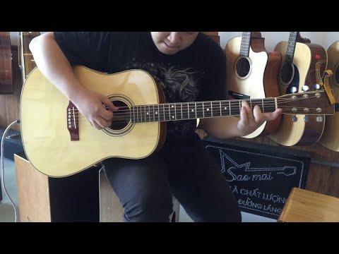Đưa cơm cho mẹ đi cày - Guitar cover Lại Việt Cường HD