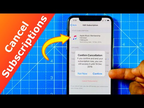 How to Cancel Subscriptions on iPhone!