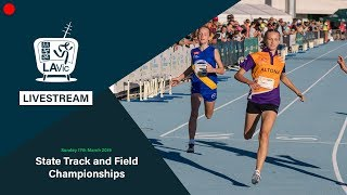 🔴 2019 State Track and Field Championships Livestream - Sunday (Main) // LAVicTV