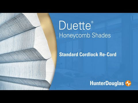 Duette® Honeycomb Shades - Lift Cord Replacement - Hunter Douglas