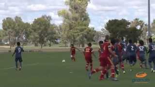 Real Salt Lake-Arizona Academy U-17/18 vs. LA Galaxy Highlights | May 16, 2015