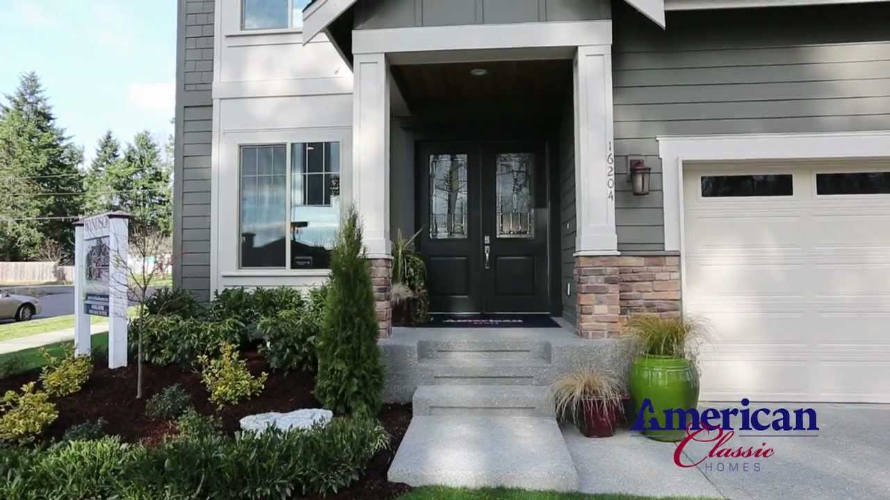 American classic homes the cambridge at windsor youtube for American classic homes renton