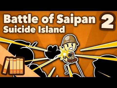Battle of Saipan - Suicide Island - Extra History - #2