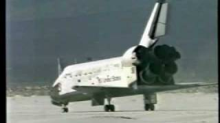 Landing of STS-3 (Columbia)
