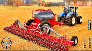 Heavy Duty Tractor Farming Tools 2020 - Sun Flower Farm Harvester - Android Gameplay