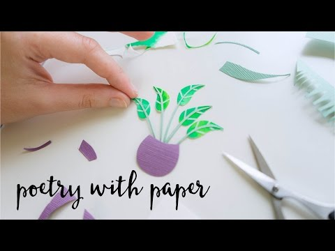 Poetry with Paper feat. Artist & Illustrator Tara Galuska
