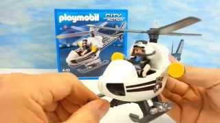 Playmobil Polizei Hubschrauber 5916 auspacken seratus1 unboxing