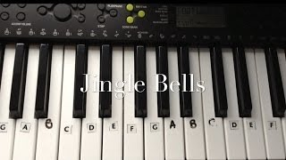Jingle Bells Keyboard/Piano Tutorial for Beginners - Easy