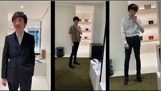 Shopping at Celine Menswear, Antwerp Houben and my little review | Hedi Slimane
