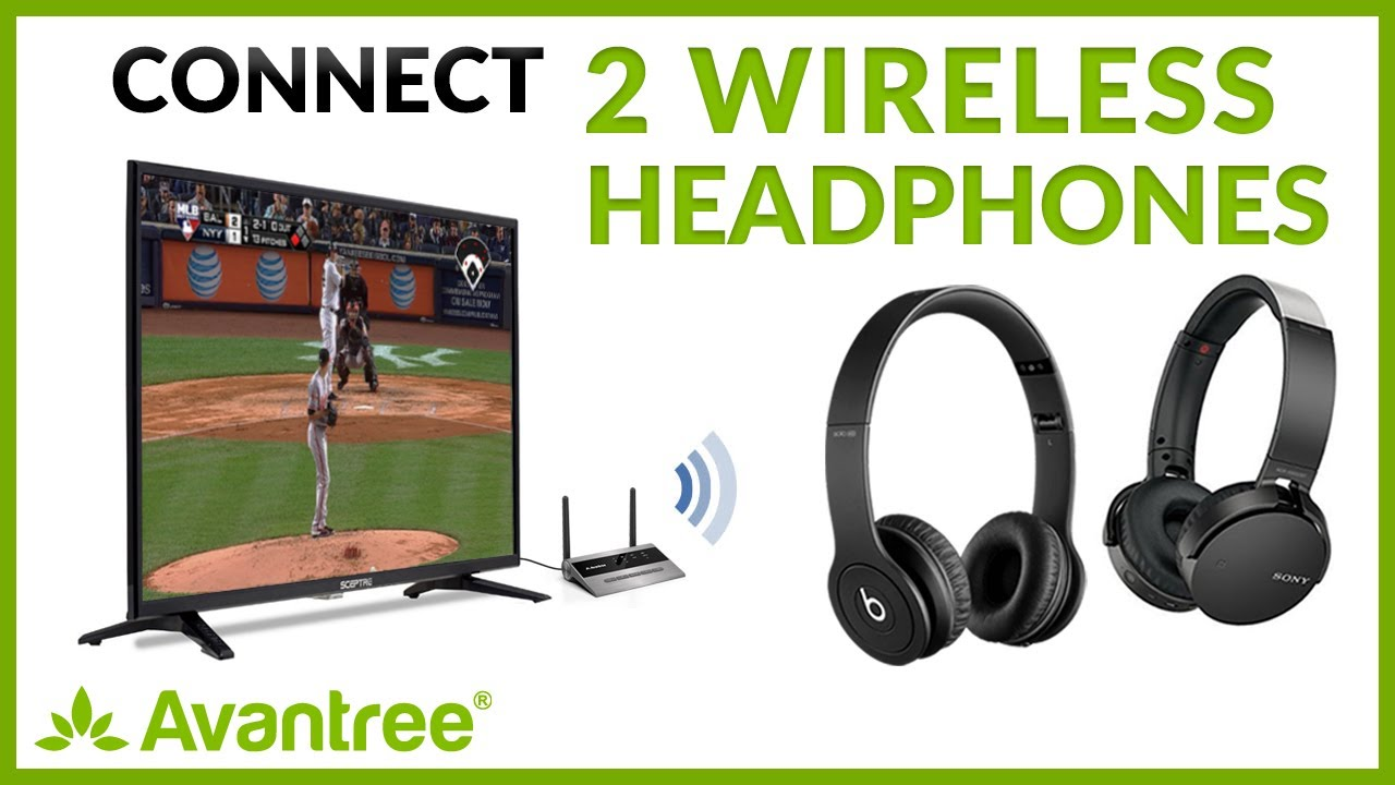How To Have 2 Headphones Connected To One Tv 419 Youtube