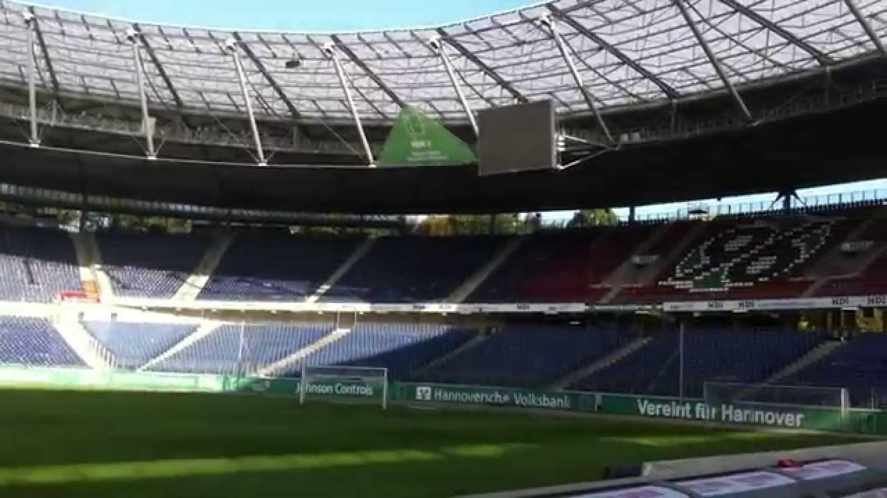Hannover 96 Stadium (Europeans 2015 final venue) - YouTube