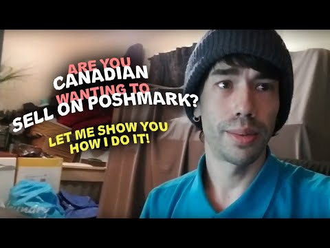 HOW I SELL (A LOT) On #POSHMARK LIVING In CANADA • Canadian Reseller • #PoshmarkCanada