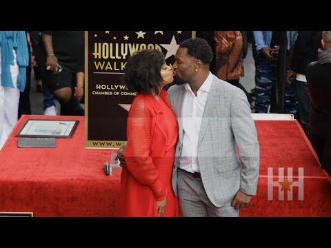 Taraji P. Henson Shares Sweet Kisses And Wedding Plans At Star Unveiling