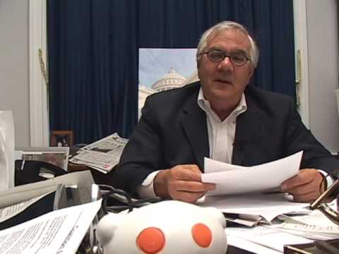 reddit.com interviews Barney Frank (3 of 5)