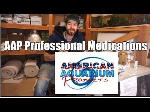 AAP Professional Medications Disease Treatments-  Aquatronics