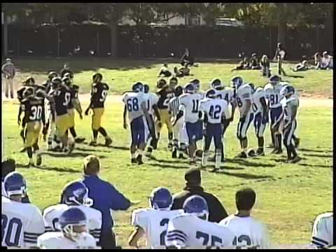 1996-10-19 Football - Mountain View 34 v Los Altos 7