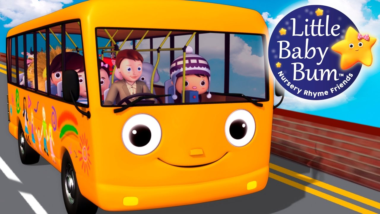 wheels on the bus part 5 nursery rhymes original version by