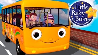 Wheels On The Bus | Part 5 | Little Baby Bum | Nursery Rhymes for Babies | ABCs and 123s