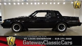 #7009 1986 Buick Regal T Type - Gateway Classic Cars of St. Louis