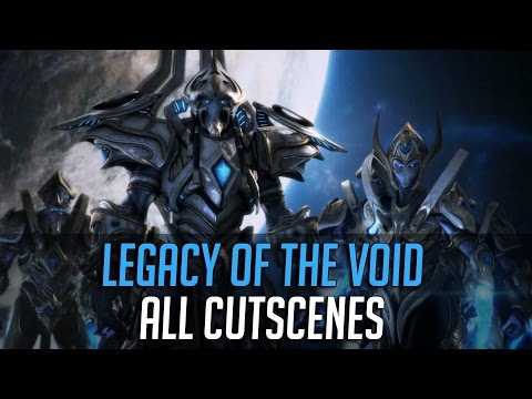 Legacy of the Void All Cinematics *** SPOILERS ***