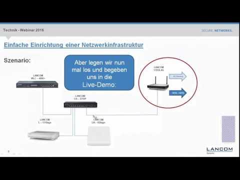 Webinar: Einfache Einrichtung einer Netzwerkinfrastruktur