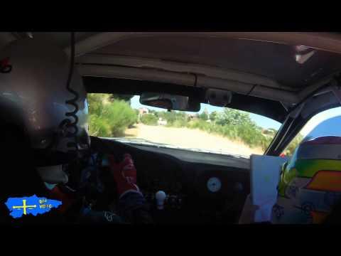 Tito Villanueva - Sara Radio (Mitsubishi EVO VI) Rallysprint de Omaña