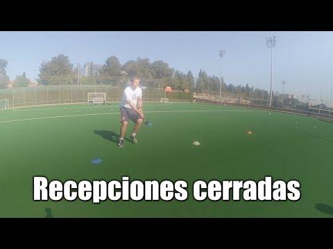 Jugador de hockey hierba. Recepciones cerradas. English subtitles (CC)