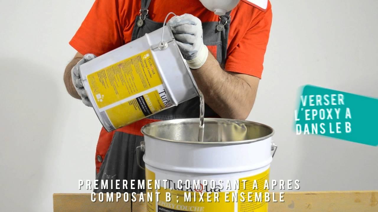 Resine Epoxy Sol Deco turkqua epoxy revêtement de sol - youtube