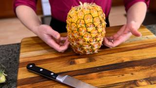 How to choose & cut a pineapple