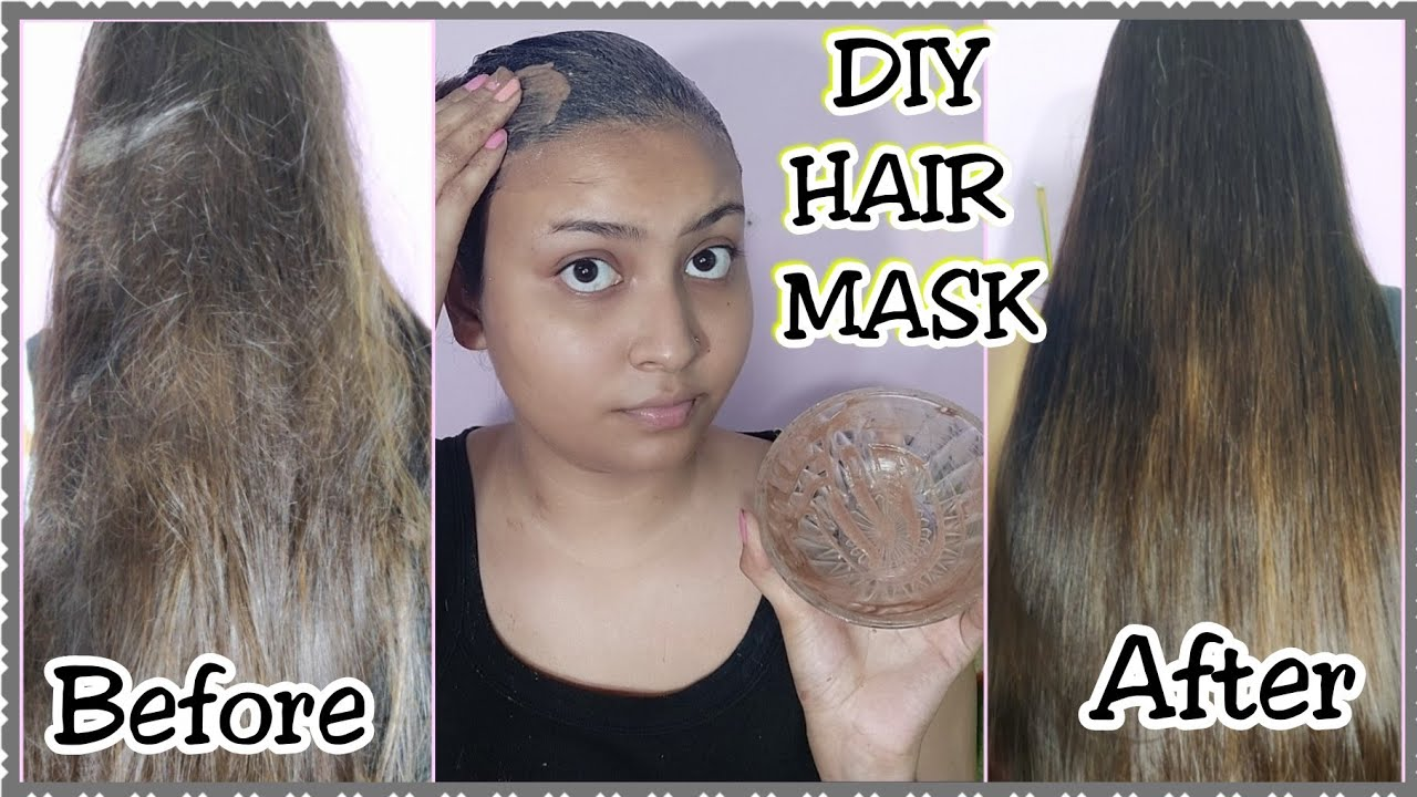 DIY HAIR MASK FOR HAIR STRAIGHTENING AND SMOOTHING ...