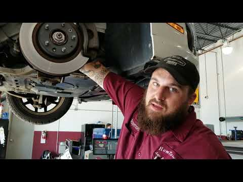 Replacing an alternator on a Ford Fusion