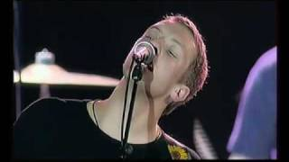 Coldplay live Shiver 2000