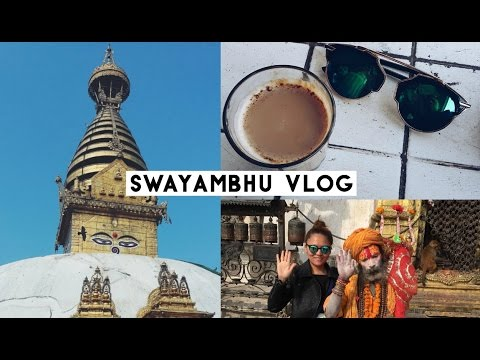 Nepal vlog: Kathmandu Diaries Part 3, Swayambhu after Earthquake