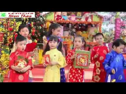 bé Bảo An - liên khúc mùa xuân ơi ca nhạc thiếu nhi remcuahienthao.com
