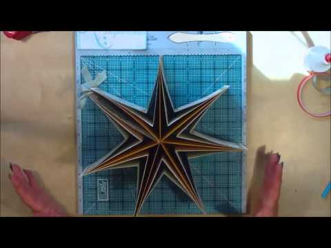 Star Mini Book Tutorial part 1