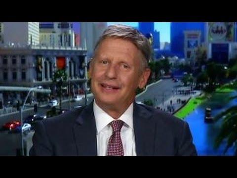 How Gary Johnson would debate Trump and Clinton