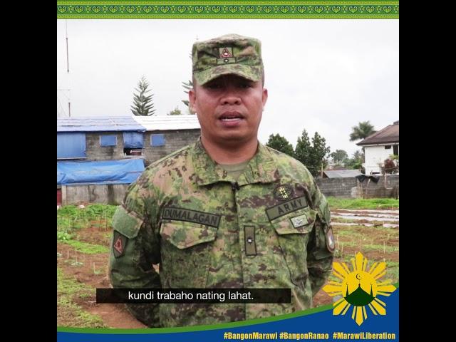 #MessageofPeace ni Maj. Dumalagan, JTG Tabang